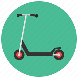 games, roller, scooter, toys icon