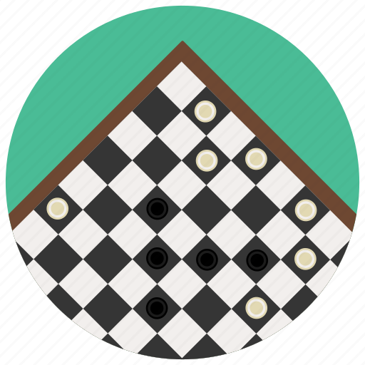 check, checkerboard, checkers, chess, draughts, games, toys icon