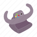cartoon, control, game, play, racing, steering, wheel icon