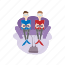 cartoon, game, gamers, gaming, play, technology, video icon