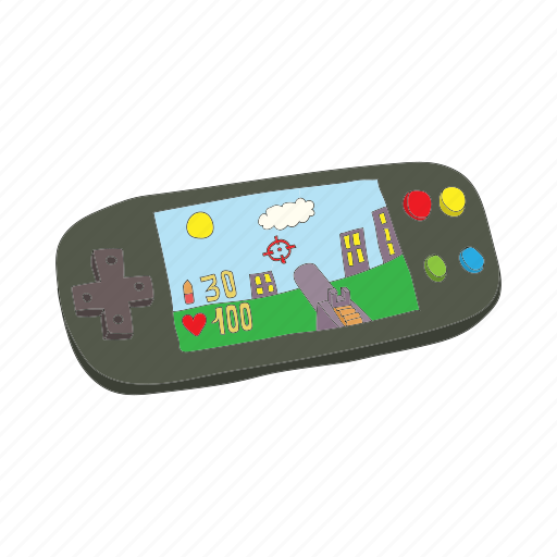 Cartoon, console, game, gaming, mobile, technology, video icon - Download on Iconfinder
