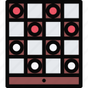 casino, checkers, game, party, video game icon