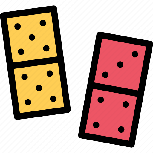 casino, domino, game, party, video game icon