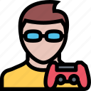 casino, game, gamer, party, video game icon