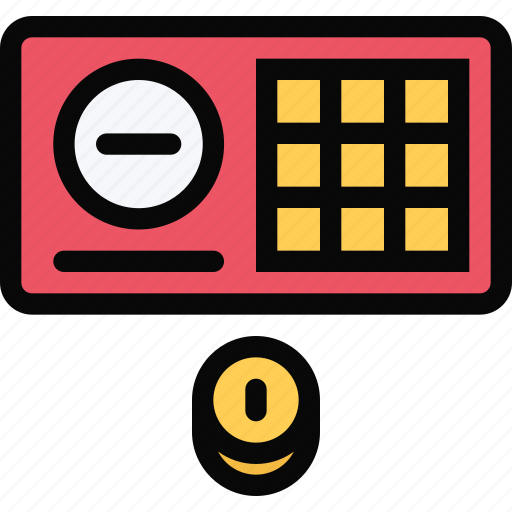 casino, game, lottery, party, ticket, video game icon