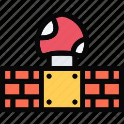 casino, game, mario, party, video game icon