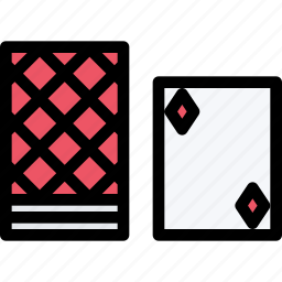 cards, casino, game, party, playing, video game icon