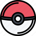casino, game, party, pokeball, video game icon