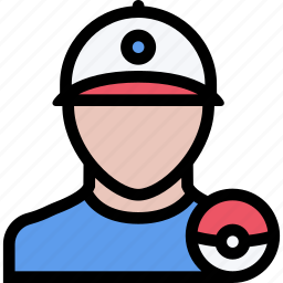 casino, game, party, pokemon, trainer, video game icon