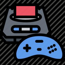 casino, game, party, sega, video game icon