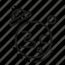 orbit, planet, space, ufo icon