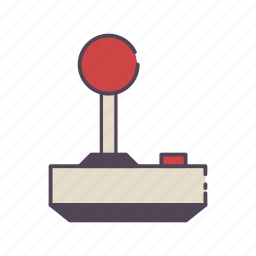 atari, controller, game, joystick, video game icon