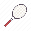 racquet, tennis, sports, game, badminton, racket