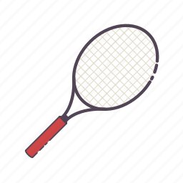 badminton, game, racket, racquet, sports, tennis icon