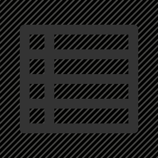 hierarchy, leaderboard, position, rank, table icon