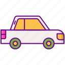 car, gamification, transport icon
