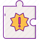 challenge, gamification, puzzle icon