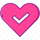 gamification, heart, love icon