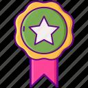 gamification, premium, vip icon