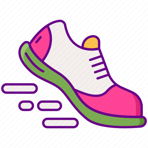 fitness, gamification, running icon