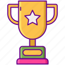 award, gamification, trophy icon