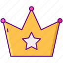 crown, gamification, premium, vip icon