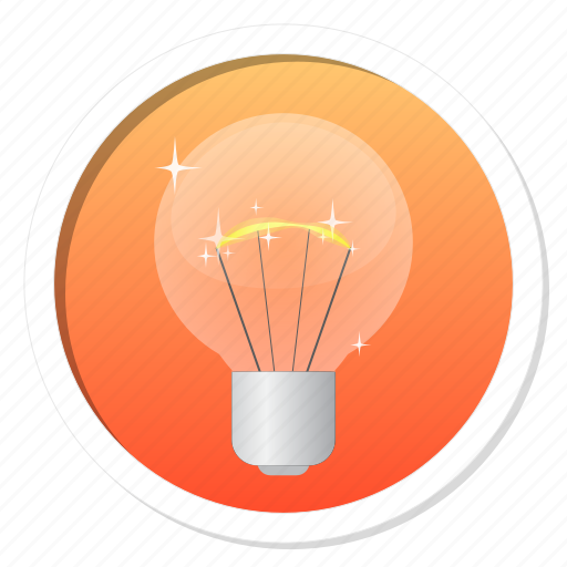bright, bulb, christmas, creativity, device, electric, electricity, energy, glow, hint, idea, innovation, invention, lamp, light, light bulb, off, on, score, shiny, tips icon
