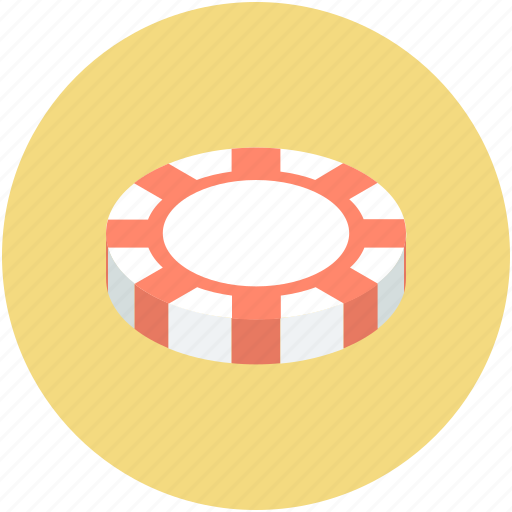 casino, casino chip, casino game, gambling, poker, poker chip icon