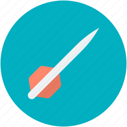 archery, bullseye arrow, dart, dart pin, dart stick icon
