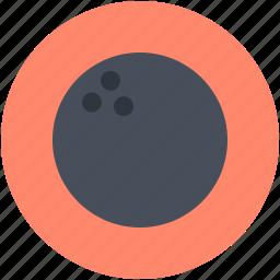alley ball, bowl ball, bowling game, game, hitting ball icon