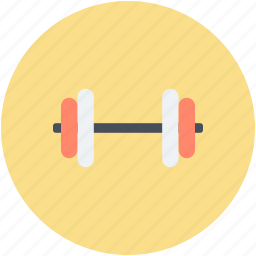 dumbbell, fitness, gym, gym exercise, halteres icon