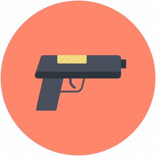 firearm, gun, handgun, pistol, weapon icon