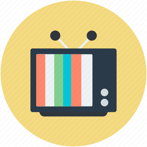 electronics, lcd, monitor, tv, tv set icon