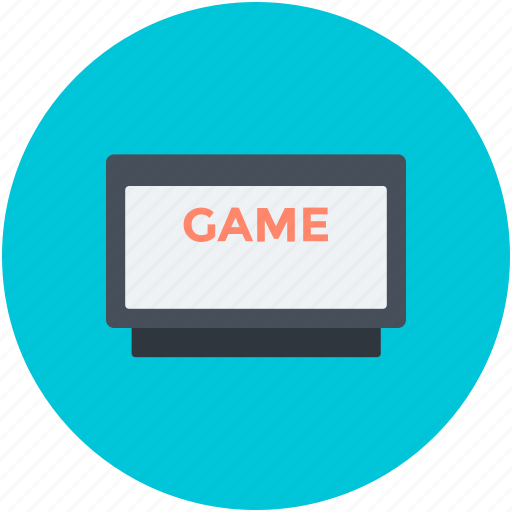 internet game, monitor, online game, play game, video game icon