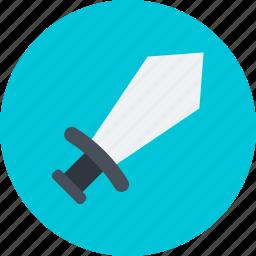 crossguard sword, medieval blade, medieval sword, sword, two sword icon