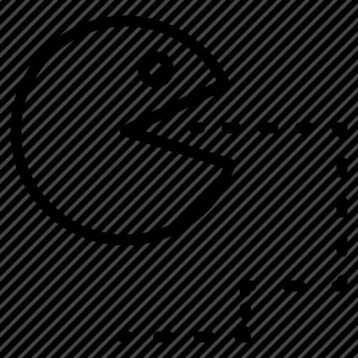 classical, eating, emoji, finish, old, snake game icon