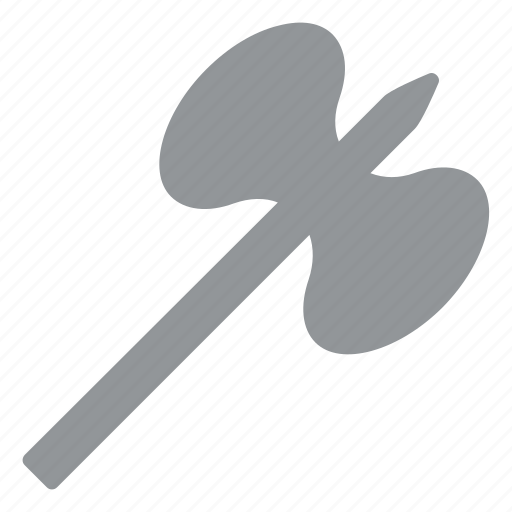 axe, dart, fan, feather, fighting, gaming tool icon