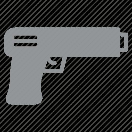 bomb, pistol, revolver, shot, soldier, war, weapon icon