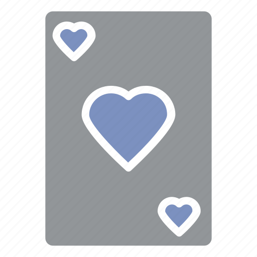 cards game, crossing, heart, indoor, matching, playing icon