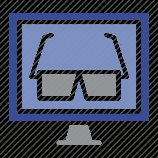 desktop, display, gadget, lcd, led, pc, technology icon