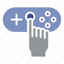 gaming tools, play station, playing, set, system, tools icon