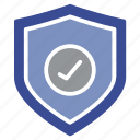 antivirus, firewall, guard, lock, privacy, safe, shield icon