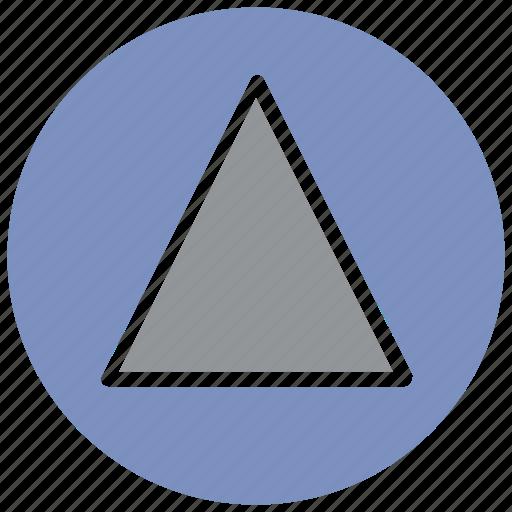 arrow, launch, media, player, rocket, start, video icon
