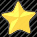 fraction, score, star icon