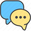 chat, rate, review icon