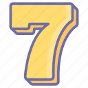 game, gaming, number seven, seven, seven stage, seventh stage