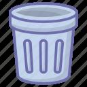 bin, clean, dustbin, game, trash icon