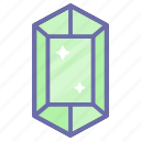 diamond, game, gaming, jewel, present icon