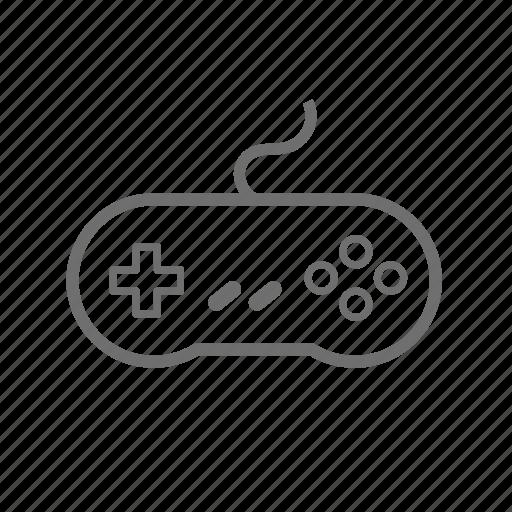 controller, game, gamepad, gaming, nintendo, retro icon