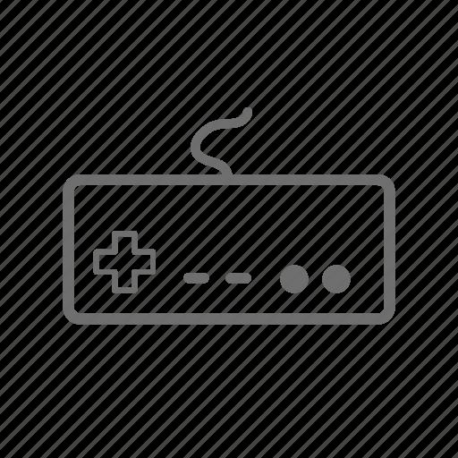 controller, nes, nintendo, nintendo nes, remote, retro icon
